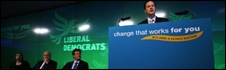 Nick Clegg launches Lib Dem manifesto