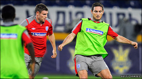 James Milner and Frank Lampard