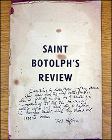 St Botolph's Review
