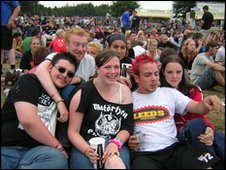 Leeds Festival crowd