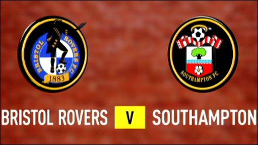 Bristol Rovers v Southampton