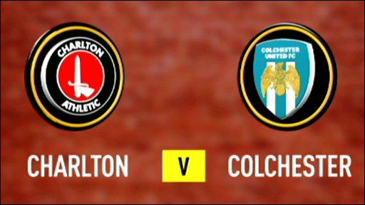 Charlton v Colchester