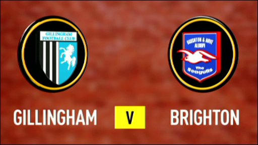 Gillingham v Brighton