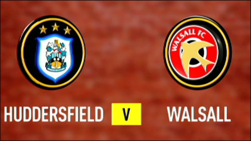 Huddersfield 4-3 Walsall