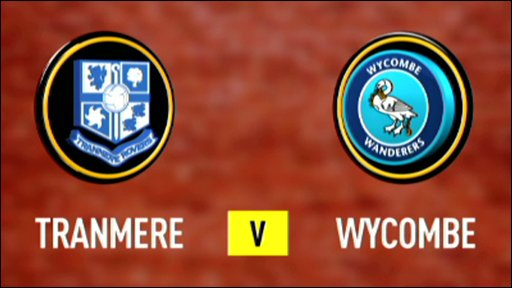 Tranmere v Wycombe