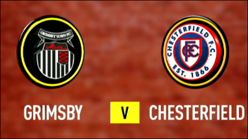 Grimsby 2-2 Chesterfield