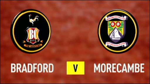 Bradford 2-0 Morecambe