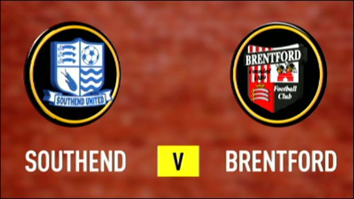 Southend v Brentford
