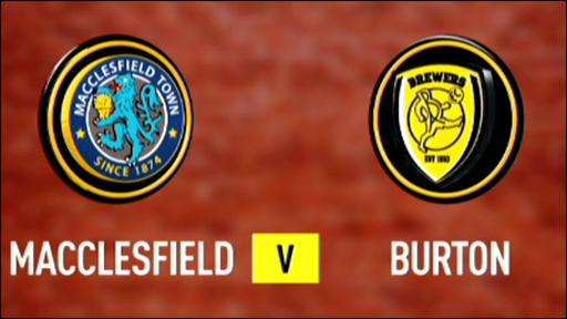 Macclesfield 1-1 Burton