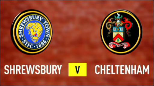 Shrewsbury 0-0 Cheltenham