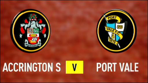 Accrington 1-2 Port Vale