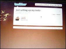 Twitters frist tweet