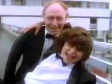 Neil Kinnock and Tracey Ullman