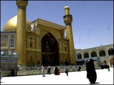 The Imam Ali Shrine