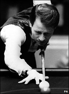 Alex 'Hurricane' Higgins in 1987