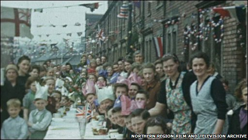 VE Day celebrations in Gateshead
