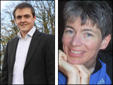Tom Crone and Rebecca Lawson