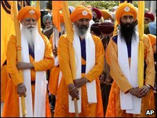 Vaisakhi parade leaders