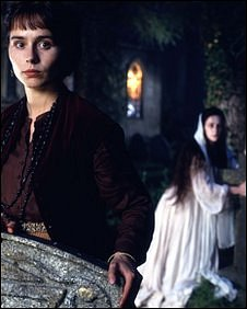 A scene from the BBC's 1997 production of The Woman in White