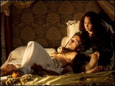 Emma Bovary and Rodolphe in the BBC's production of Madame Bovary