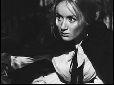 A scene from the BBC's 1966 production of The Woman In White