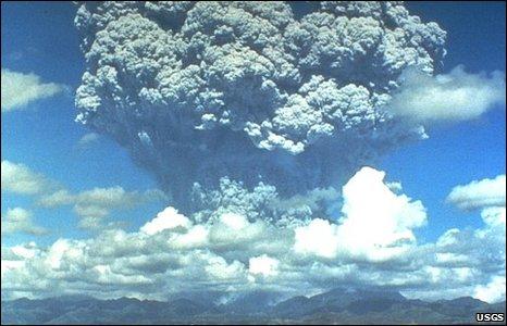 Mount Pinatubo (USGS)