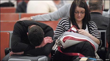 Glasgow Airport passengers