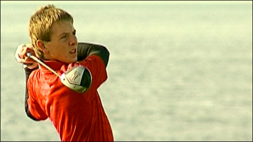 Scottish Boys Golf Champion 2010 Grant Forest