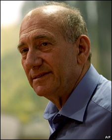 Ehud Olmert appears on TV (15 April 2010)