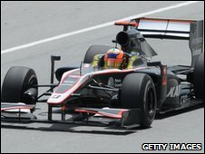 Hispania Racing's Karun Chandhok