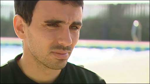 Swansea City midfielder Leon Britton