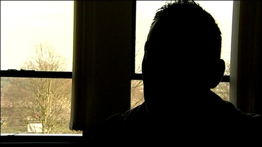 Former mephedrone trader silhouetted