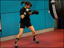 Nina Smith training