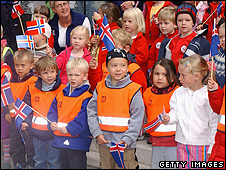 Icelandic school children