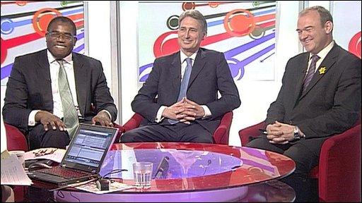 Lammy, Hammond and Davey