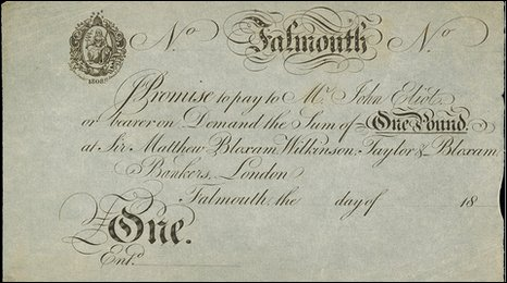 The £1 Falmouth Banknote