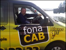 Fonacab taxi driver