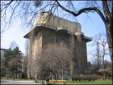 The Leitturm in the Arenberg Park