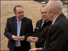 Alex Salmond at Verdo renewables
