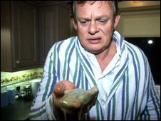 Martin Clunes as George White in Fungus the Bogeyman