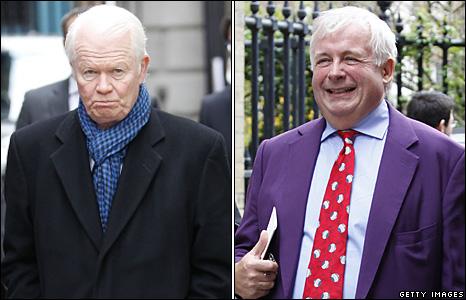 Michael Cochrane and Christopher Biggins