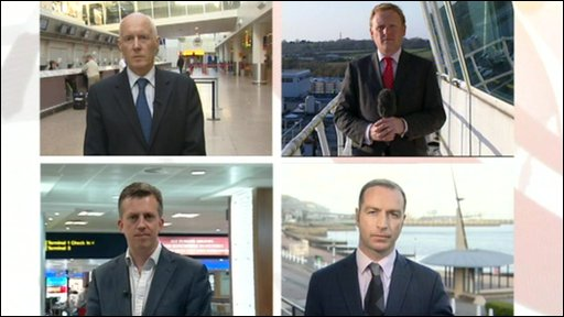 BBC reporters around the UK