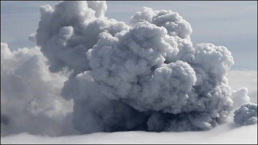 Eyjafjallajoekull volcano eruption