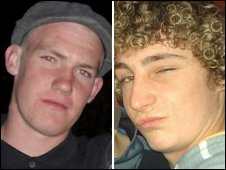 Tommy Elmes and Tommy Marsh killed in road incident near Porthcawl