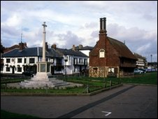 Aldeburgh village centre, Suffolk. 