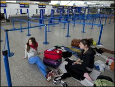 Stansted Airport in Essex, eastern
