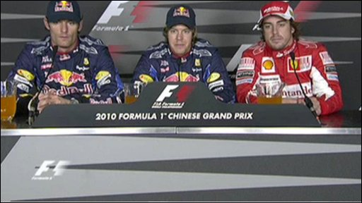 Top three drivers