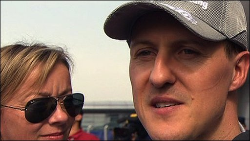 F1 Legend Michael Schumacher