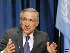 Chilean UN Ambassador Heraldo Munoz