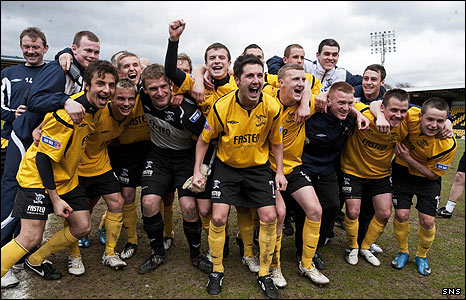 Livingston are the Division Three champions